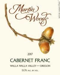 Martin Woods Cabernet Franc 2017 - 750ml