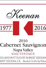 Robert Keenan Cabernet Sauvignon 2016 - 750ml