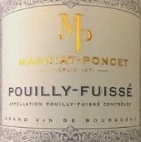 """Manciat Poncet Pouilly-Fuissé """"La Roche"""" 2018 - 750ml"""