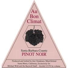 Au Bon Climat Pinot Noir Santa Barbara 2018 - 750ml