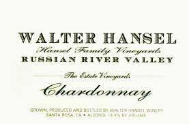 Walter Hansel Chardonnay Estate 2018 - 750ml