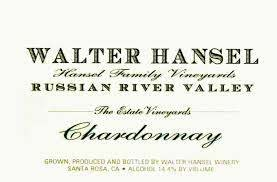 Walter Hansel Chardonnay Estate 2019 - 750ml