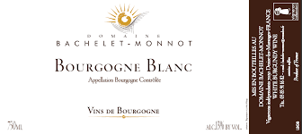 Bachelet-Monnot Bourgogne Blanc 2016 - 750ml