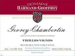 Harmand Geoffroy Gevrey Chambertin 2014 - 750ml