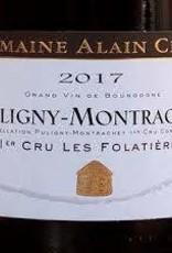 "Domaine Alain Chavy Puligny Montrachet 1er Cru ""Folatieres"" 2017 - 750ml"