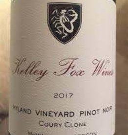 "Kelley Fox Pinot Noir ""Hyland Vineyard""  Coury Clone 2017 - 750ml"