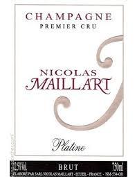 "Nicholas Maillart Champagne 1er Cru ""Platine"" Brut NV - 750ml"