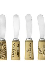 Cork Handled Cheese Spreader Set