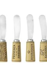 TWINE Cork Handled Cheese Spreader Set