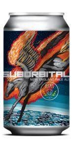 Bent Water Brewing Company Suborbital Pale Ale Cans 4pk - 16oz