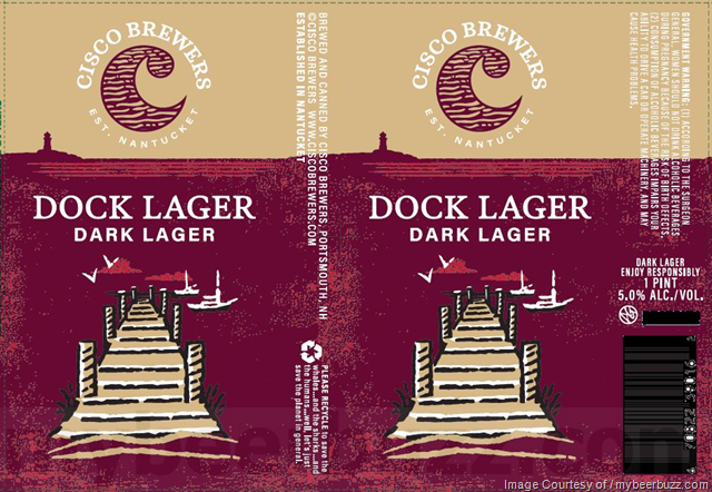 Cisco Brewers Dock Lager Case Cans 6/4pk - 16oz