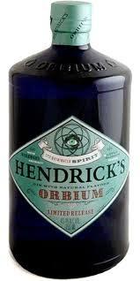 """Hendrick's """"Orbium"""" Gin 750ml"""