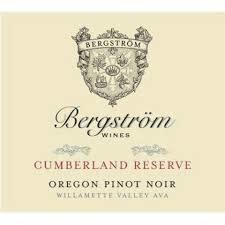 """Bergström Pinot Noir """"Cumberland Reserve"""" 2017 - 750ml"""
