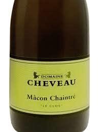 """Domaine Cheveau Macon Chaintre """"Les Clos"""" 2017 - 750ml"""