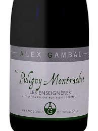 "Alex Gambal Puligny Montrachet ""Les Enseigneres"" 2018 - 750ml"