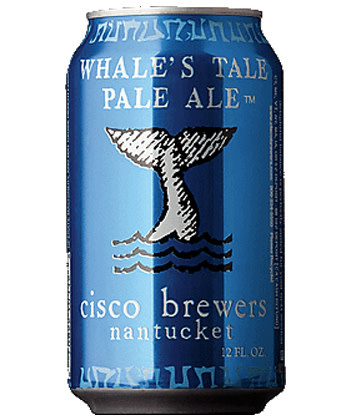 Cisco Brewers Whale's Tale Case Cans 2/12pk - 12oz