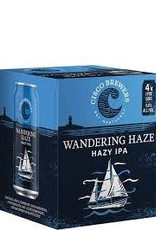 "Cisco Brewers Wandering Haze ""Hazy IPA"" Case Cans 6/4pk - 16oz"