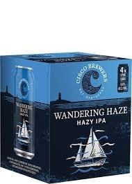 "Cisco Brewers Wandering Haze ""Hazy IPA"" Cans 4pk - 16oz"