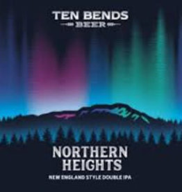 Ten Bends Northern Heights IIPA Cans 4pk - 16oz