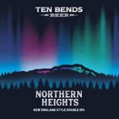 Ten Bends Northern Hieghts IIPA Cans 4pk - 16oz