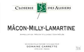 Closerie des Alisiers Macon-Milly LaMartine 2018 - 750ml