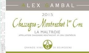 "Alex Gambal Chassagne Montrachet 1er Cru ""La Maltroie"" 2018 - 750ml"