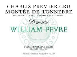 """William Fevre Chablis 1er Cru """"Montee de Tonnerre"""" 2018 - 750ml"""