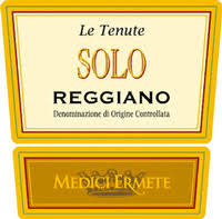 "Medici Ermete Lambrusco ""Le Tenute Solo"" NV - 750ml"