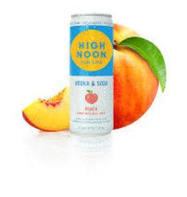 High Noon Sunsips Peach Vodka and Soda Case Cans 6/4pk - 355ml