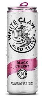 White Claw Seltzer Black Cherry Cans 12pk - 12 oz
