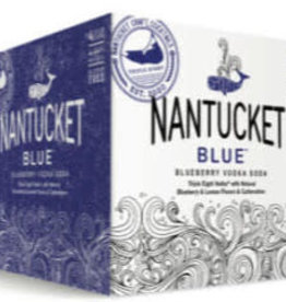 "Triple Eight ""Nantucket Blue"" Blueberry Vodka Soda Case Cans 6/4pk"