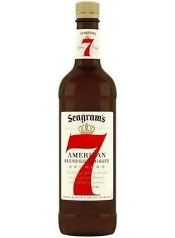"Seagram's ""7"" Canadian Whisky 750ml"