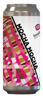 "Foundation Brewing ""Mocha Mocha"" Stout Cans 4pk - 16oz"