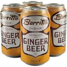 Barritt's Ginger Beer Case Cans 6/4pk - 12oz
