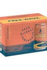 Athletic Brewing Free Wave Hazy IPA NA Cans 6pk - 12oz