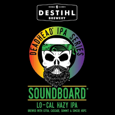 "Destihl Deadhead Series ""Soundboard"" Lo Cal Hazy IPA Case Cans 6/4pk - 16oz"