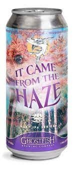 """Ghostfish Brewing """"It Came from the Haze"""" NEIPA Gluten Free Cans 4pk - 16oz"""