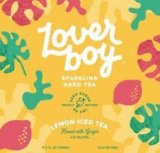 Loverboy Sparkling Hard Lemon Iced Tea Case Cans 4/6pk - 12oz