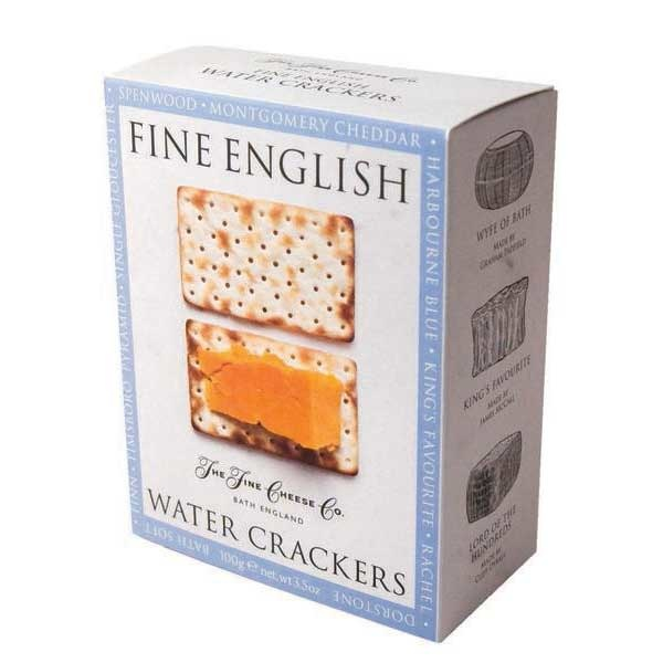The Fine Cheese Co. Water Crackers 3.5 oz