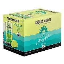 Crook & Marker Lime Margarita Cocktail 8pk - 11.5oz
