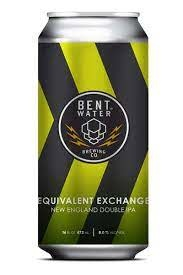 Bent Water Brewing Company Equivalent Exchange DIPA Cans 4pk - 16oz