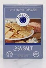 Onesto GF Sea Salt Crackers 4oz