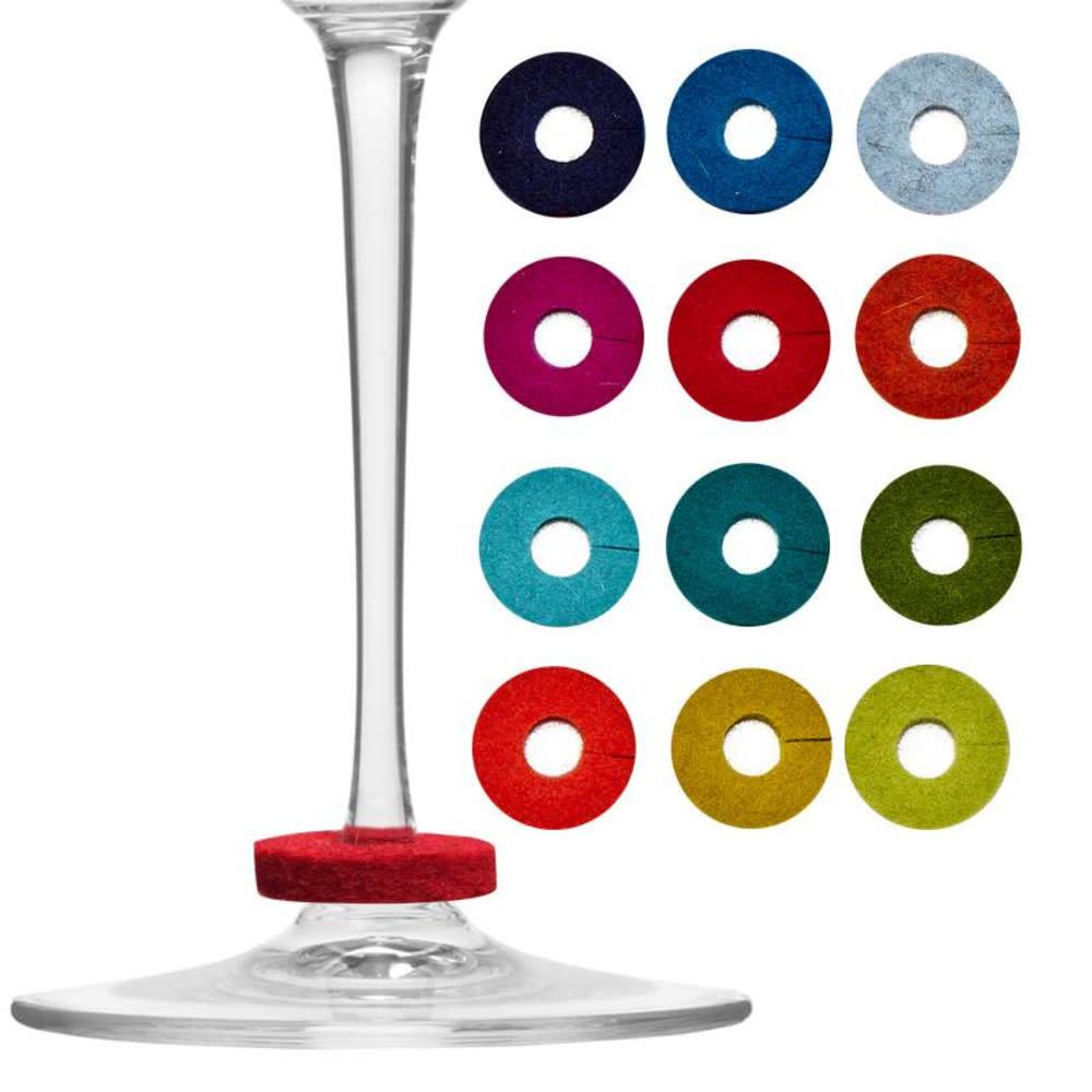 Graf Lantz Wine-O's Glass Markers