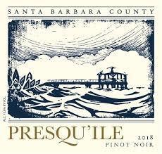 Presqu'ile Pinot Noir Santa Barbara County 2018 - 750ml