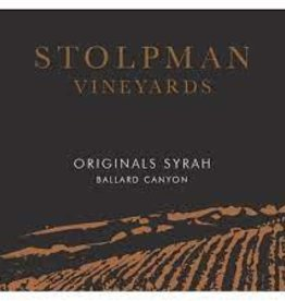 "Stolpman Syrah ""Originals"" 2016 - 750ml"