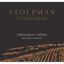 "Stolpman Syrah ""Originals"" 2016 - 750ml"