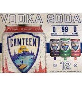 Canteen Vodka Soda Variety Case 2/12pk - 12oz