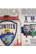 Canteen Vodka Soda Variety 12pk - 12oz