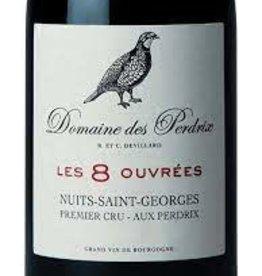 """Domaine des Perdrix Nuits St. Georges """"Les 8 Ouvrées"""" 1er Cru 2013 - 750ml"""