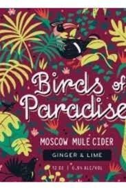 Graft Birds of Paradise Moscow Mule Cider Cans 4pk - 12oz